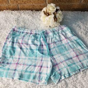 Soft Sensations Womens Pajama Shorts 14/16 Large